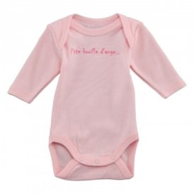 Baby Girl Pale Pink Long Sleeved Body Long