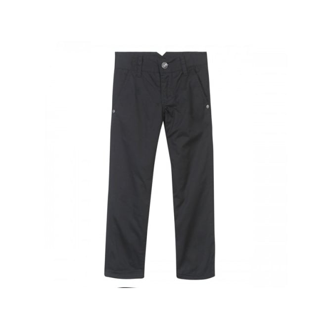 3 Pommes Boys Black Lined Trouser