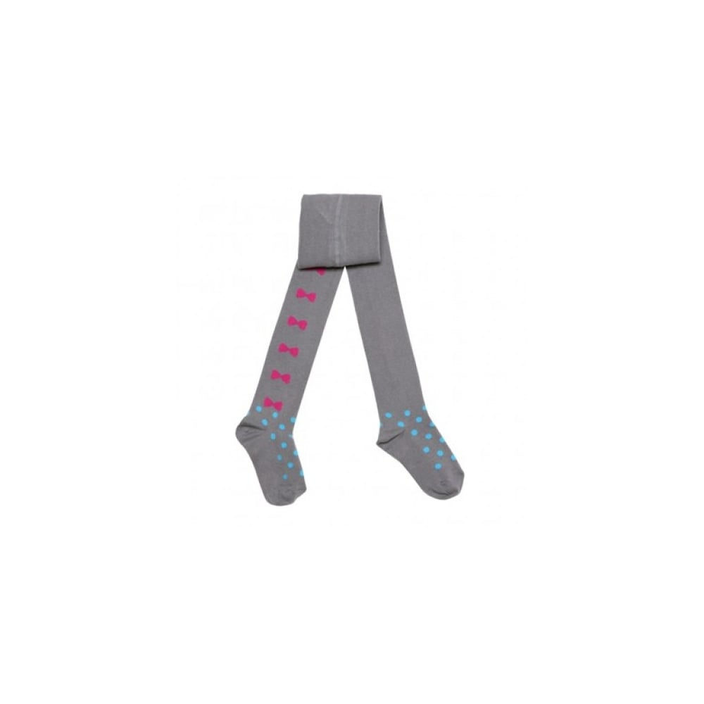 1db434969fab3 3-Pommes-Girls-Grey-Bow-Tights