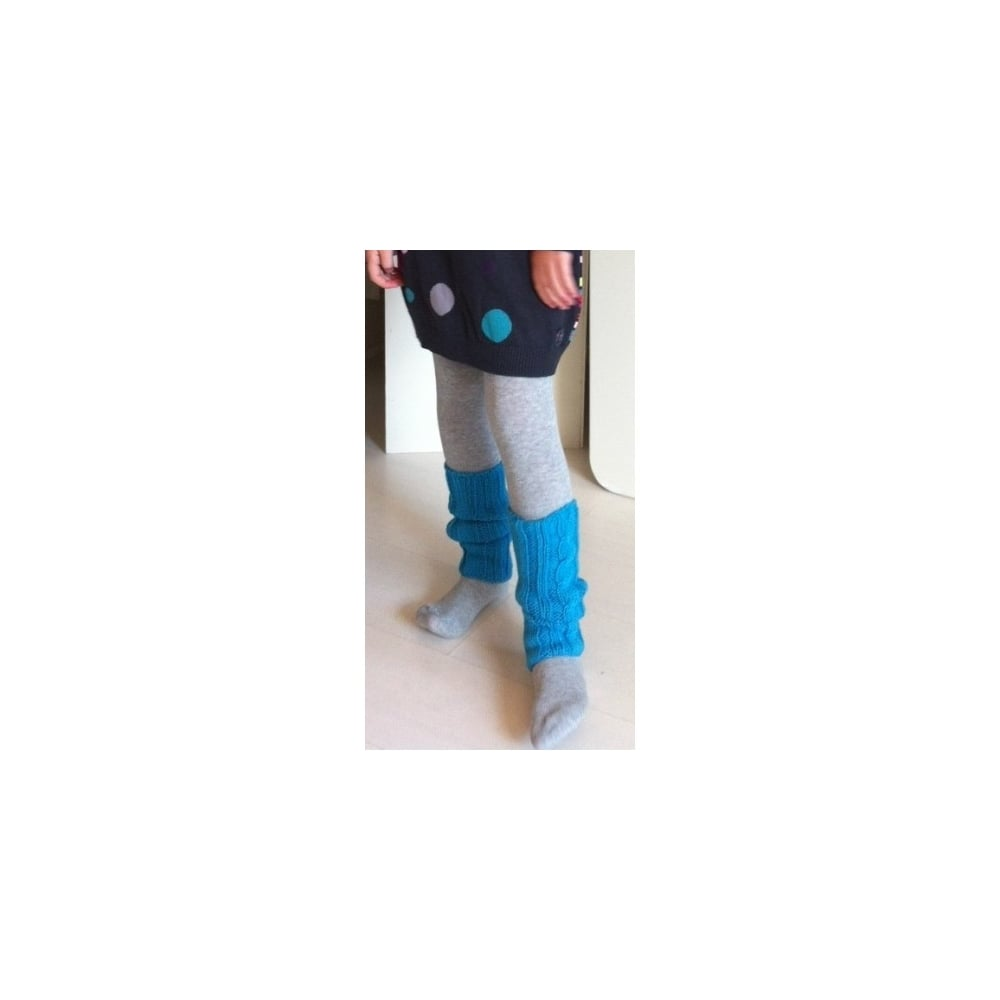 d008efc6a913c 3-Pommes-Girls-Grey-Tights-with-Turquoise-Legwarmers