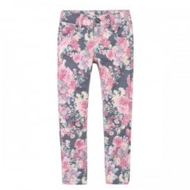 Girls Patterned Trousers