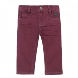 Mini Boy Maroon Trouser