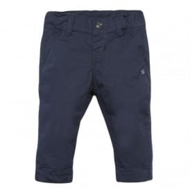 Mini Boy Navy Slim Fit Trouser