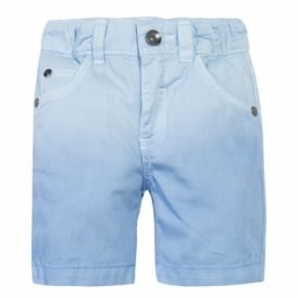 Mini Boy Powder Blue Shorts