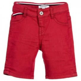 Mini Boy Red Shorts