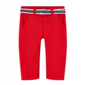 Mini Boy Red Trouser