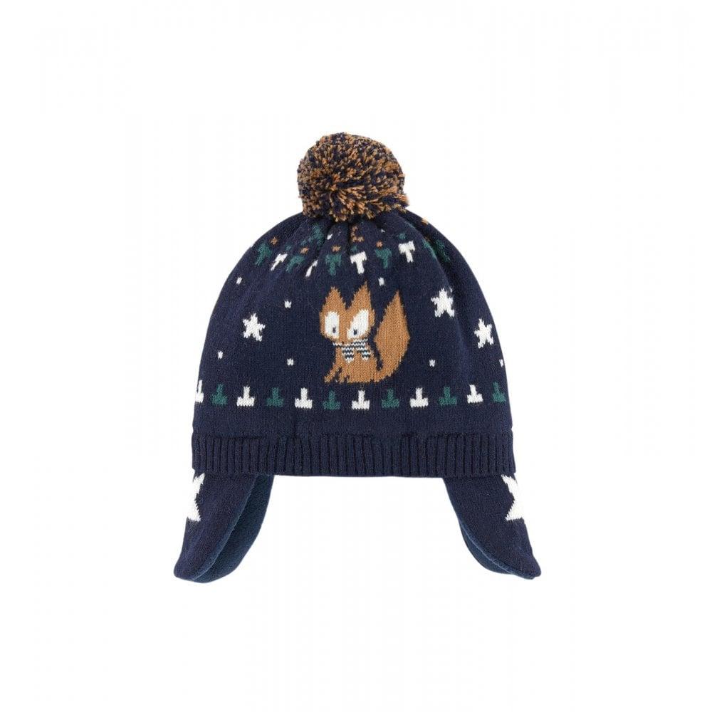 e116e6bf8b4d Absorba-Boys-Fox-Bobble-Hat