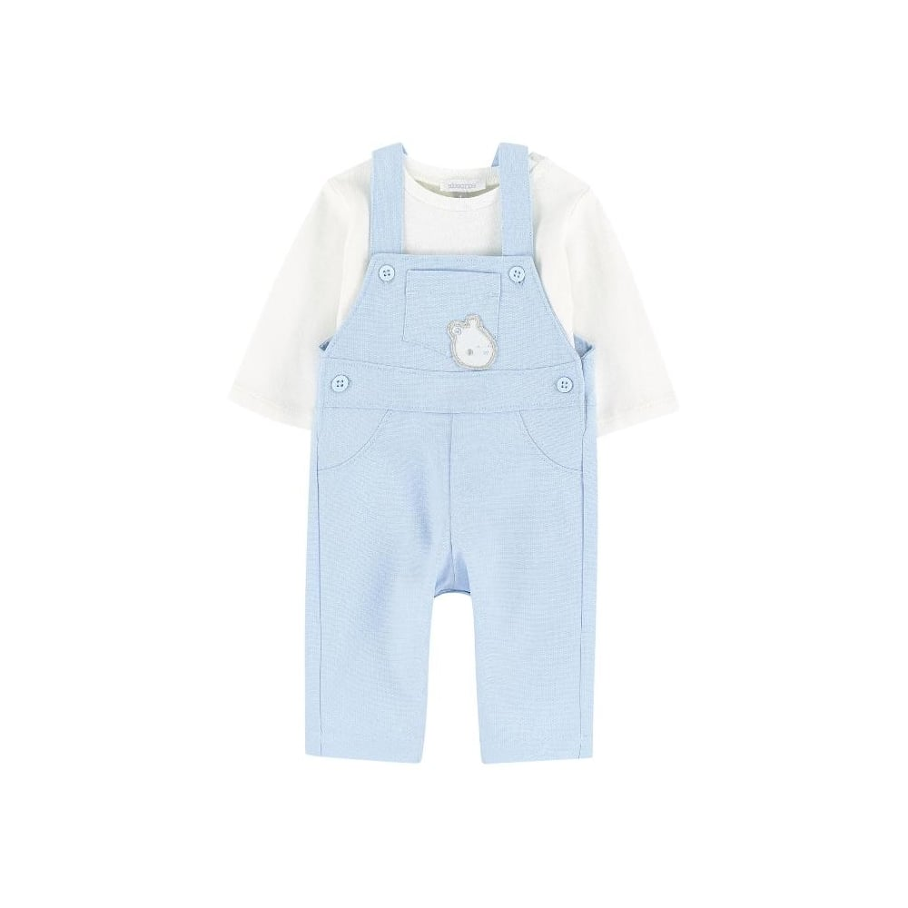 415753dc479a Absorba-Baby-Boy-Pale-Blue-Dungaree-Set