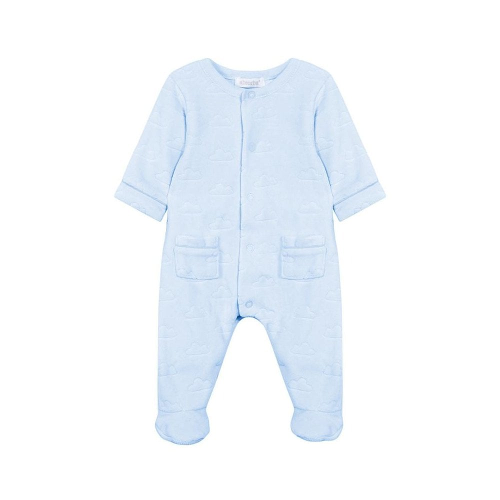 2e643a1a804b Absorba-Baby-Boy-Velour-Sleepsuit-Pale-Blue-9M54031