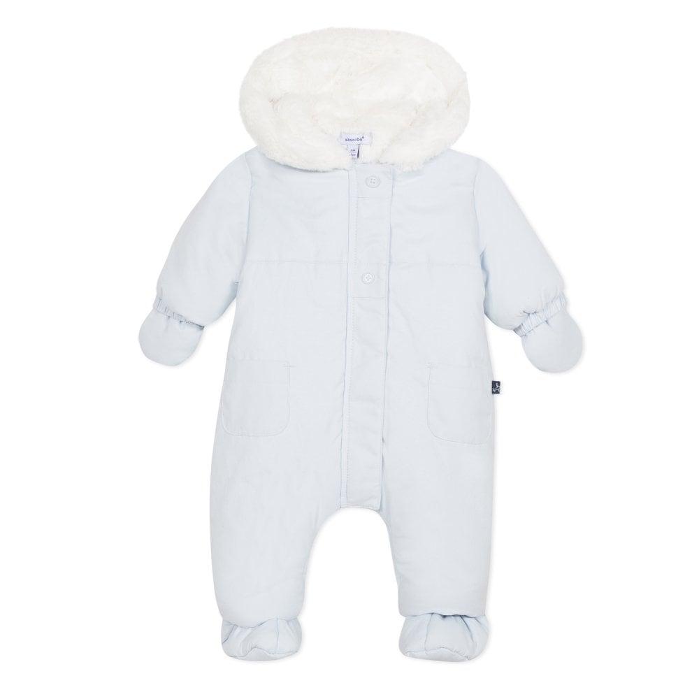 b8d1841f1 Absorba-Baby-Boy-Pale-Blue-Fur-Lined-Snowsuit