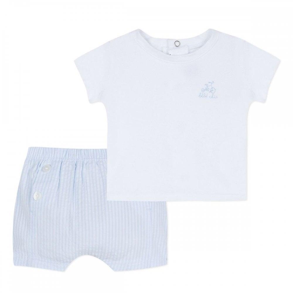 4fdea6f5cca48 Absorba-Baby-Boy-Pale-Blue-Shorts-and-T-shirt-Set