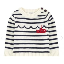 Baby Boy Pullover Striped Sweater