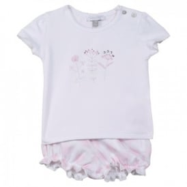 Baby Girl Bubble Short Set