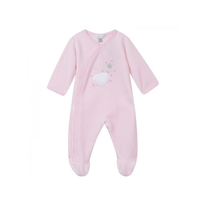Absorba Baby Girl Pink Layette Sleepsuit