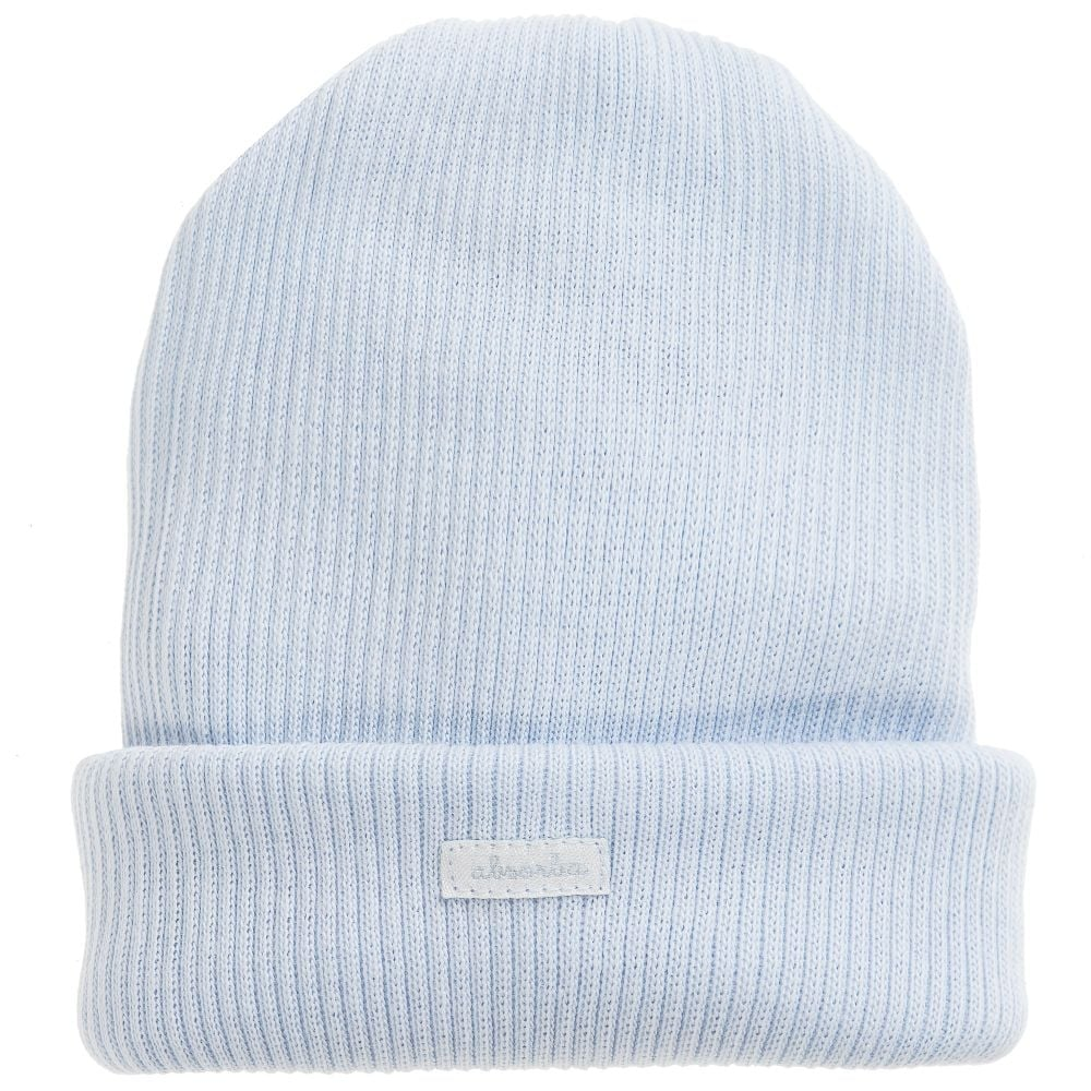 4cd691f7217 Absorba-Baby-Ribbed-Knit-Hat-Blue