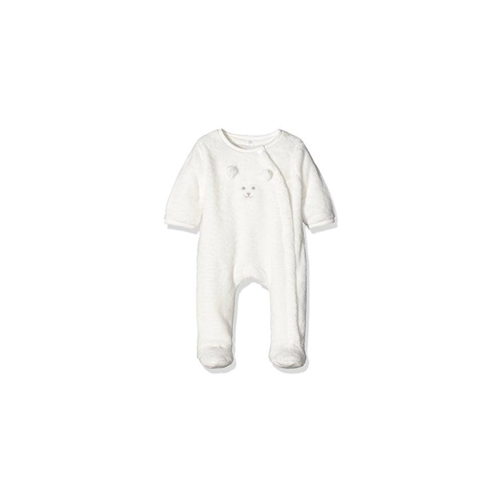 8ec5ab83d Baby Unisex Velour Pramsuit in Cream