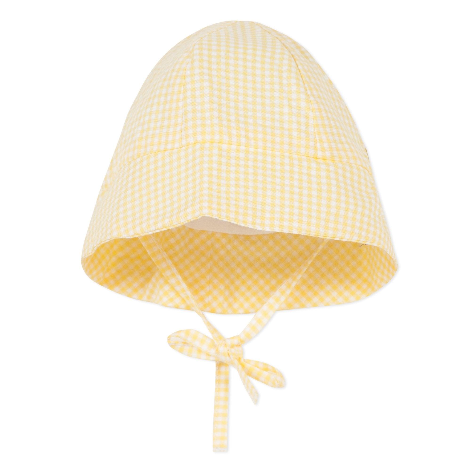 12-24 Months Sun Hat Baby Girl Pink Gingham Summer 100/% Cotton 6-12 Months