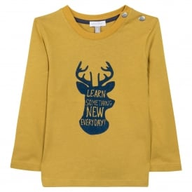 Boys Yellow Long Sleeved Top