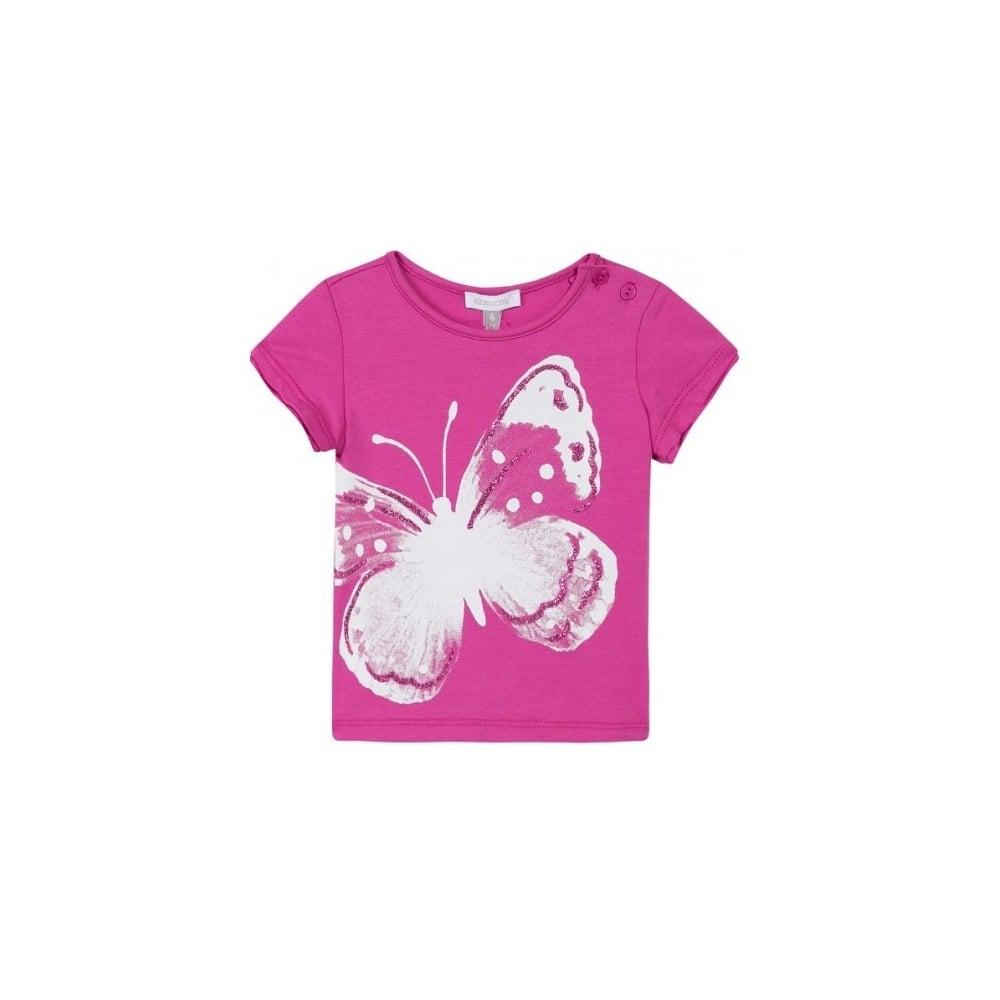 435eb2fccb5ed6 Absorba-Girls-Butterfly-Print-T-shirt