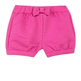 Girls Pink Bloomer Shorts
