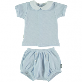Baby Boy Blue Shorts and Top Set
