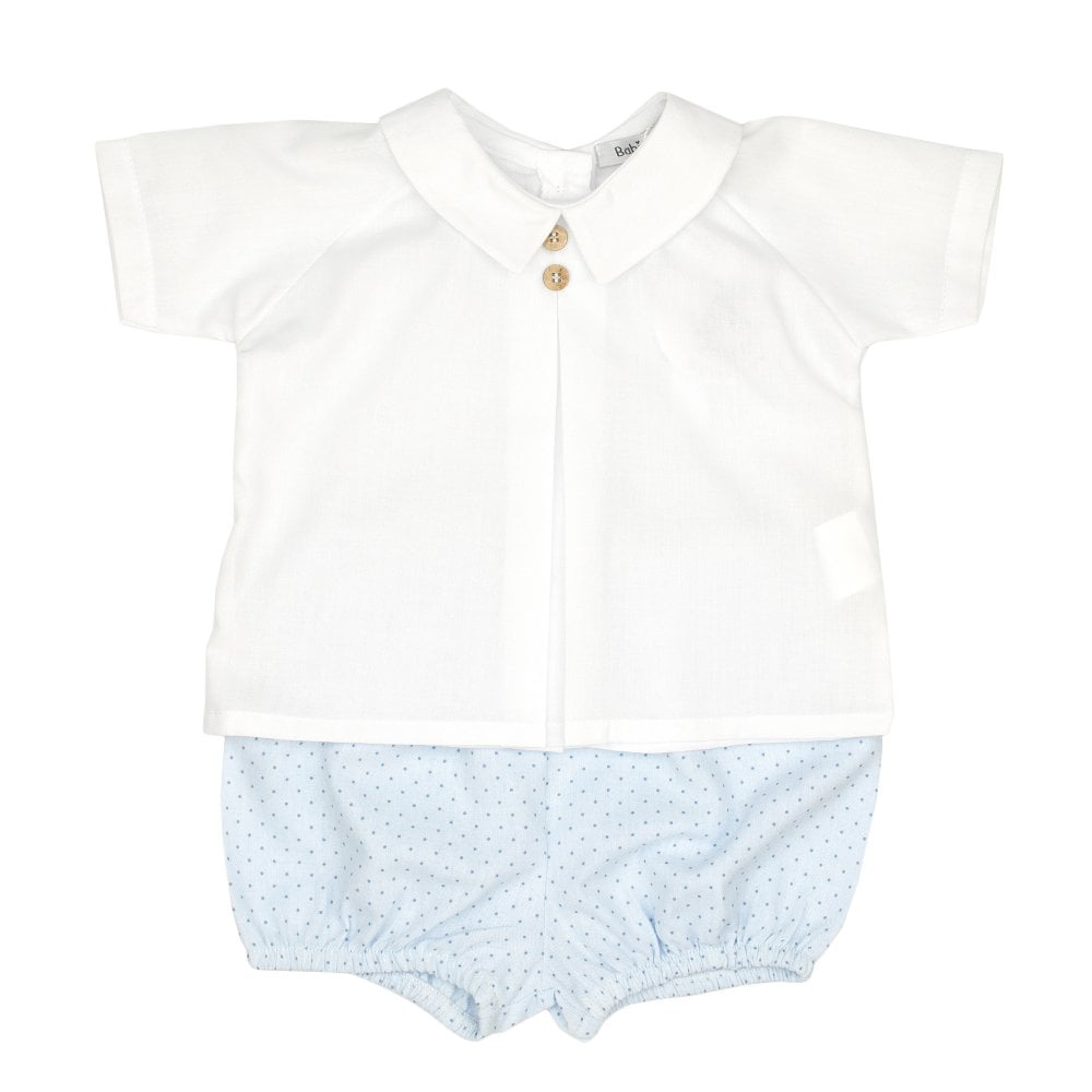 4b74cd44 White Shirt For Baby Boy   Top Mode Depot
