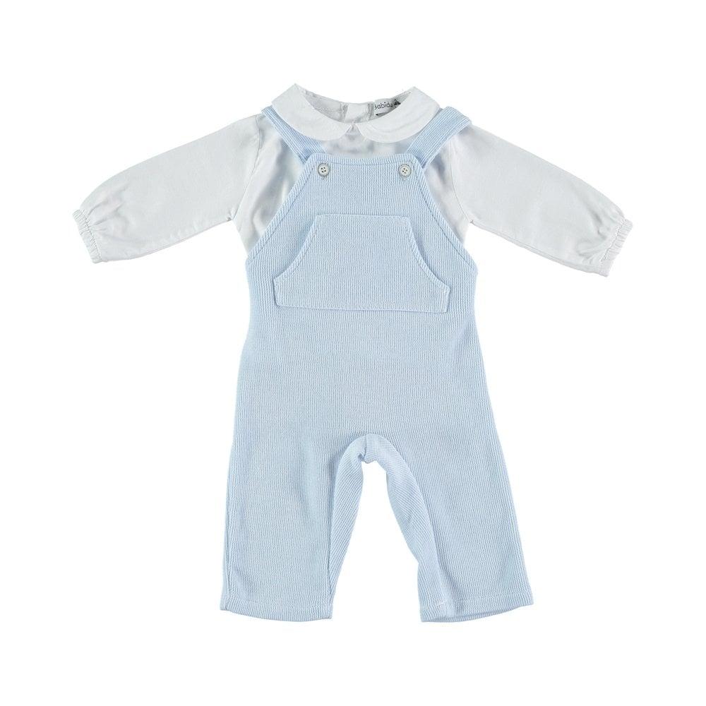 25b326eb01453 Babidu-Baby-Pale-Blue-2pc-Dungaree-Set
