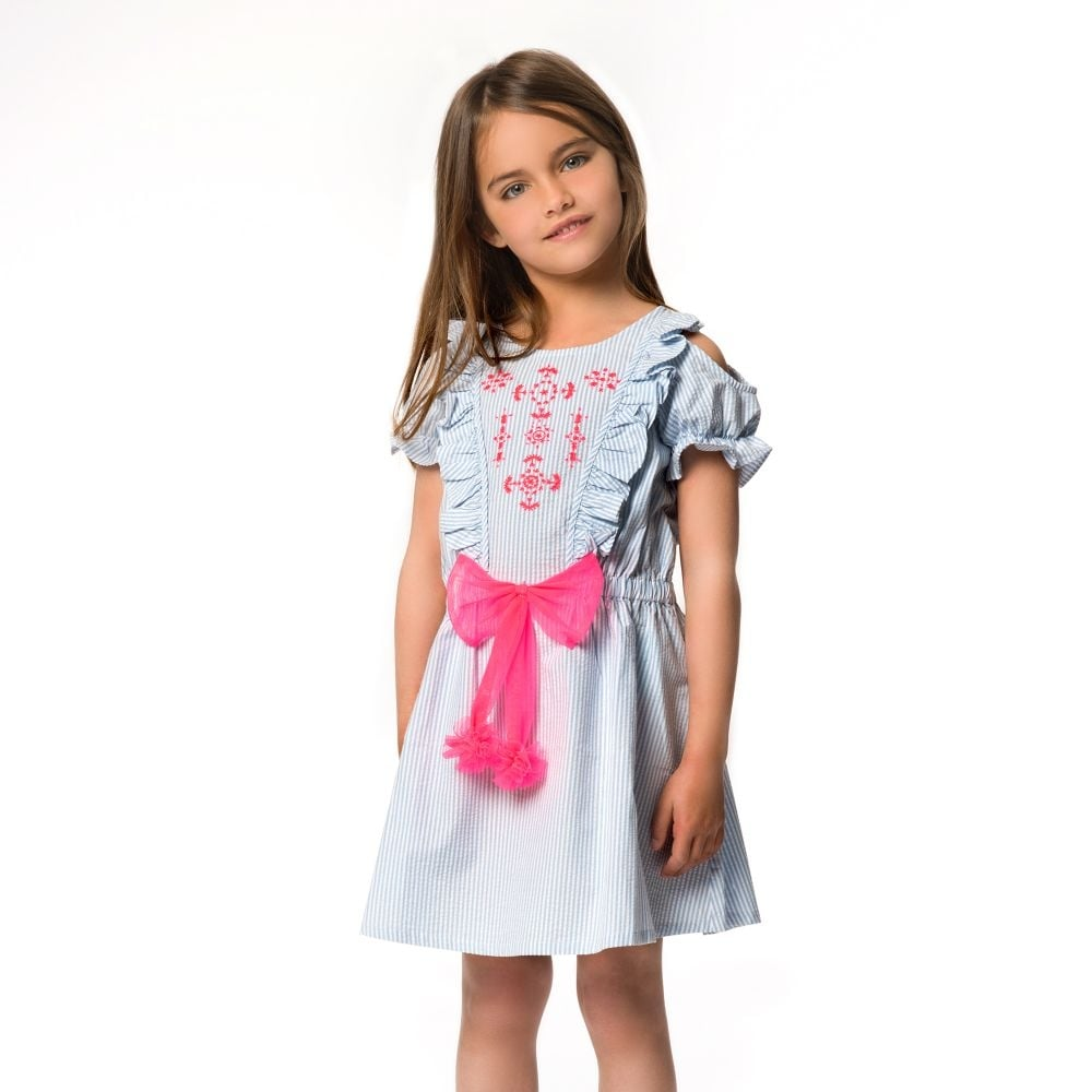 b81a10078 Girls-Blue-Striped-Dress-SS18