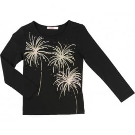Girls Fireworks T-shirt