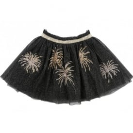 Girls Fireworks Tulle Skirt