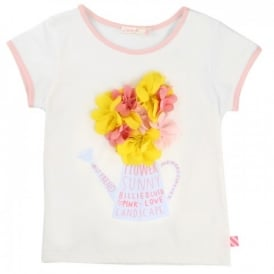 Girls Flower Petal T-shirt