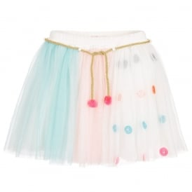 Girls Girls Mint Tulle Skirt