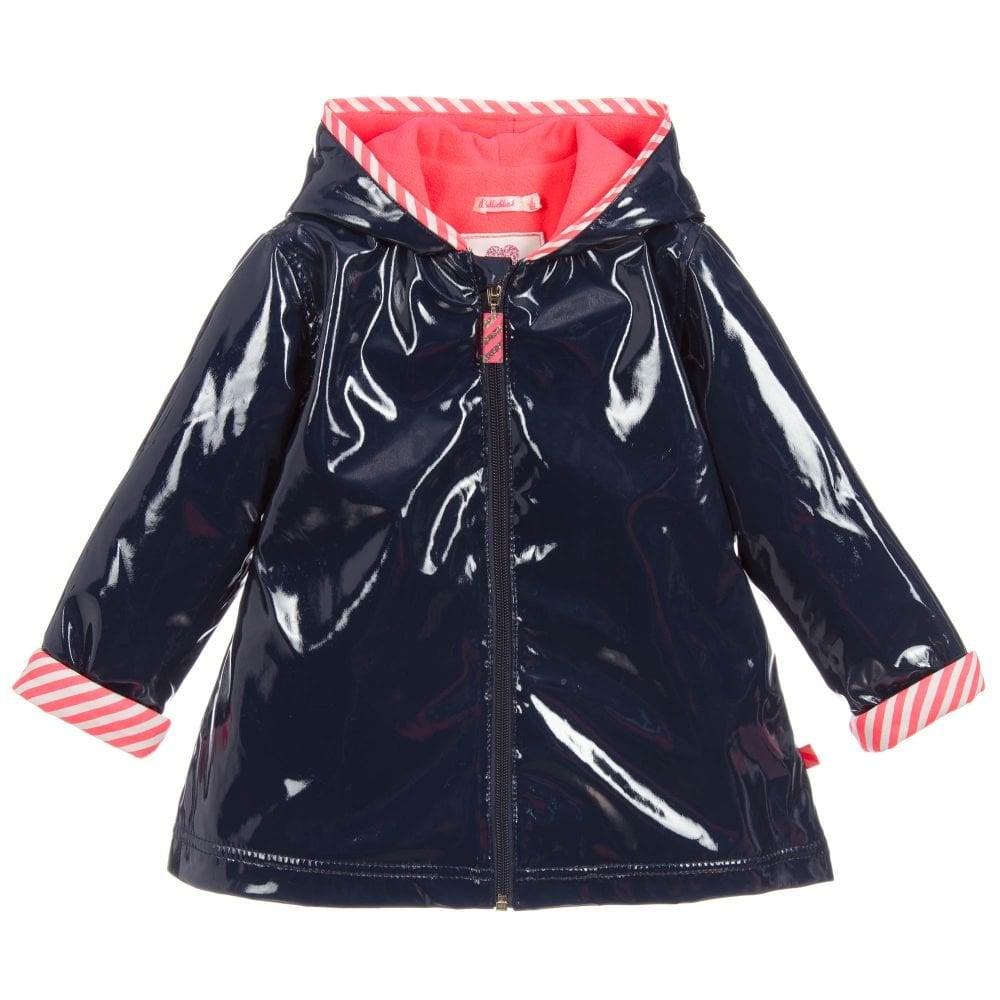 4597641d0 Girls Navy Raincoat