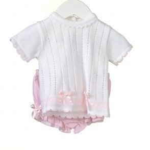 3dd39fe93 Sarah-Louise-Girls-Pale-Pink-Hand-Smocked-Dress-011472