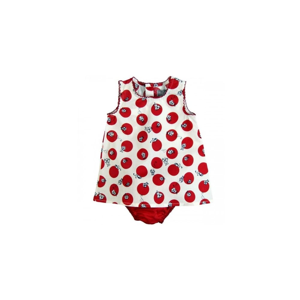 Boboli Baby Toddler Girl Ladybird Print Dress