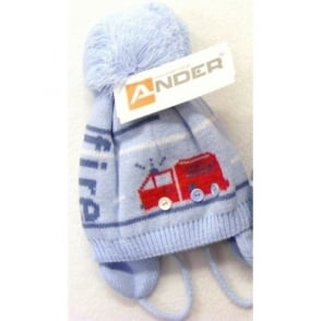 Little-Nosh-Prince-Boys-Knitted-Hat-with-Fur-Pom-Pom de2727dc868f