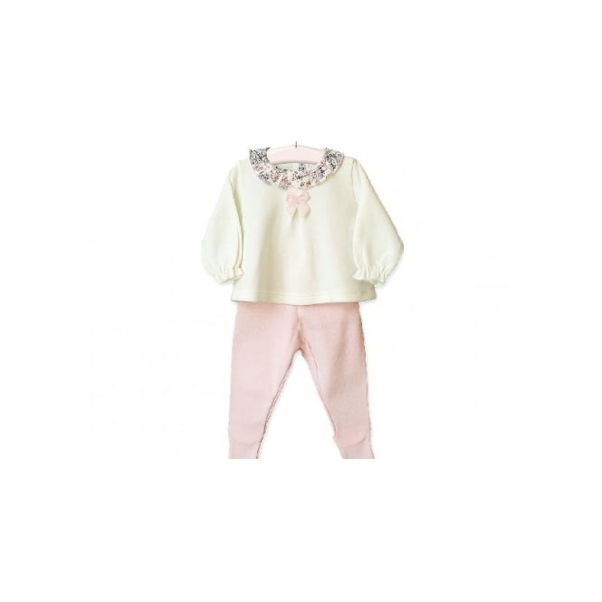 Boutique Baby Girl Spanish Designer Top and Trouser
