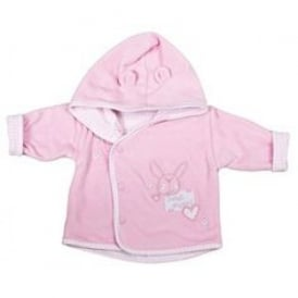 Premature Baby Velour Jacket in Pink