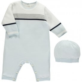 Boys Kai True Knit All in One with Hat