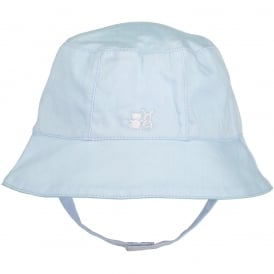Boys Pale Blue Sunhat