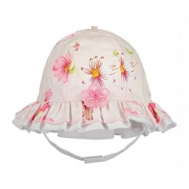 Girls Girls Floral Sun Hat