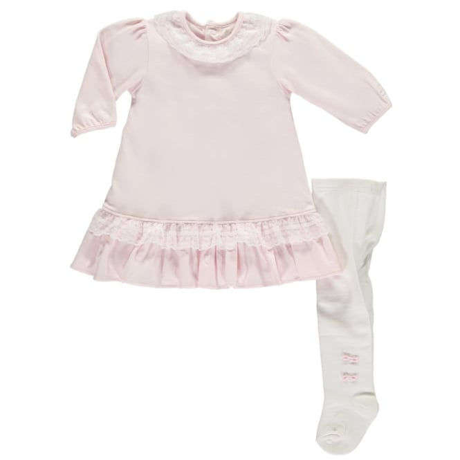 Emile et Rose Girls Leighton Dress and Tights