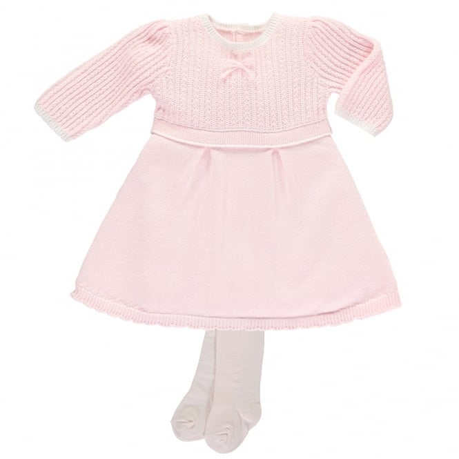 a2a70dbcc21c Emile-et-Rose-Girls-Loralie-Pink-Knitted-Dress-8337