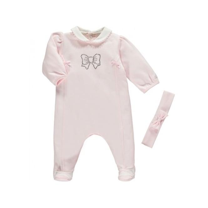 Girls' Clothing (newborn-5t) One-pieces Fine Emile Et Rose Romper Excellent Condition 1 Month
