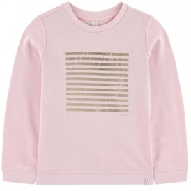 Girls Pale Pink Sweater