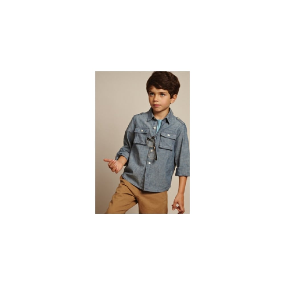 dd2eec9ca French-Connection-Boys-Chambray-Shirt