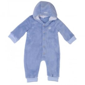 Baby Boy Blue Fleece All in One