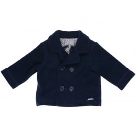 Baby Boy Navy Fleece Blazer