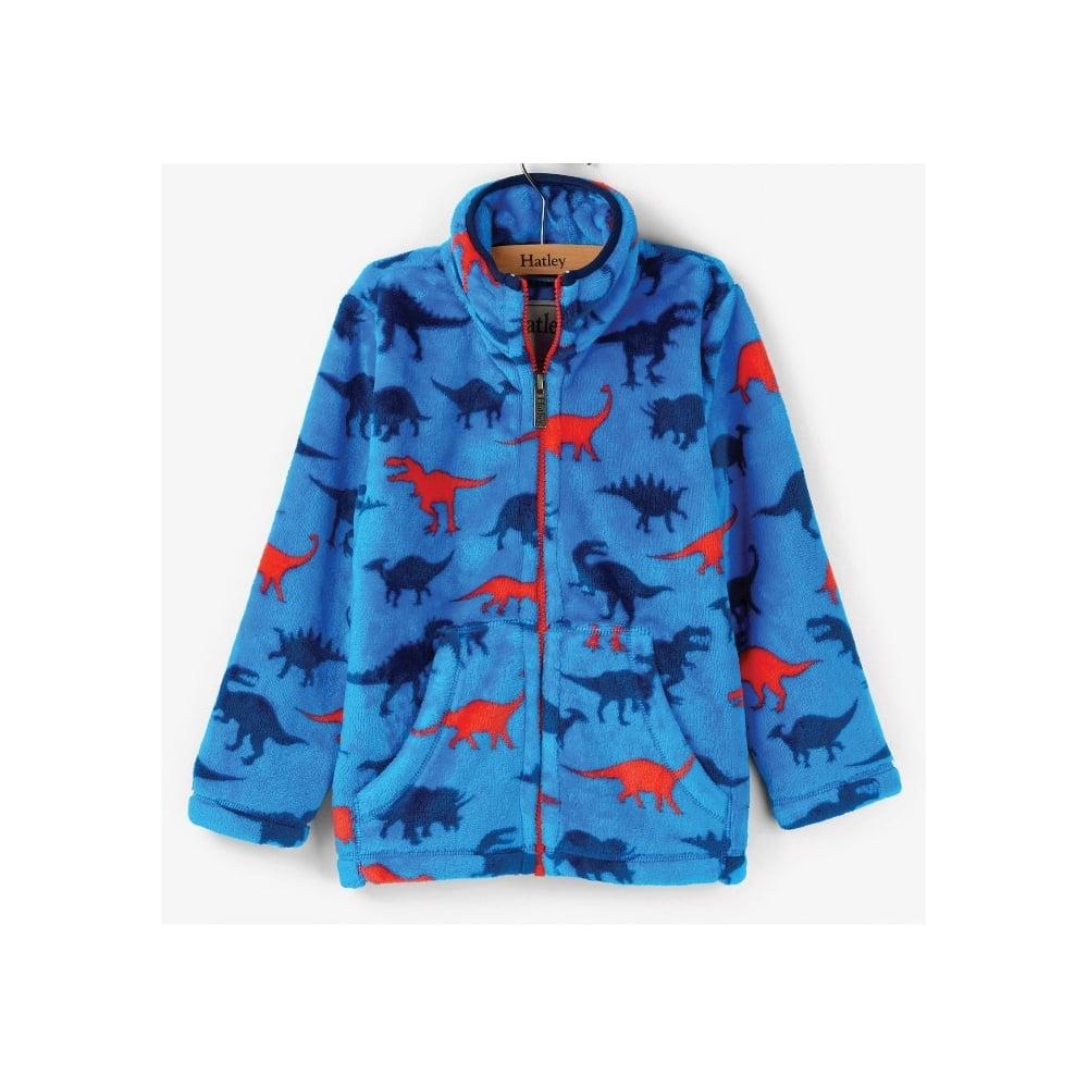 a833f6ce Hatley-Boys-Dinosaur-Shapes-Fuzzy-Fleece-Jacket