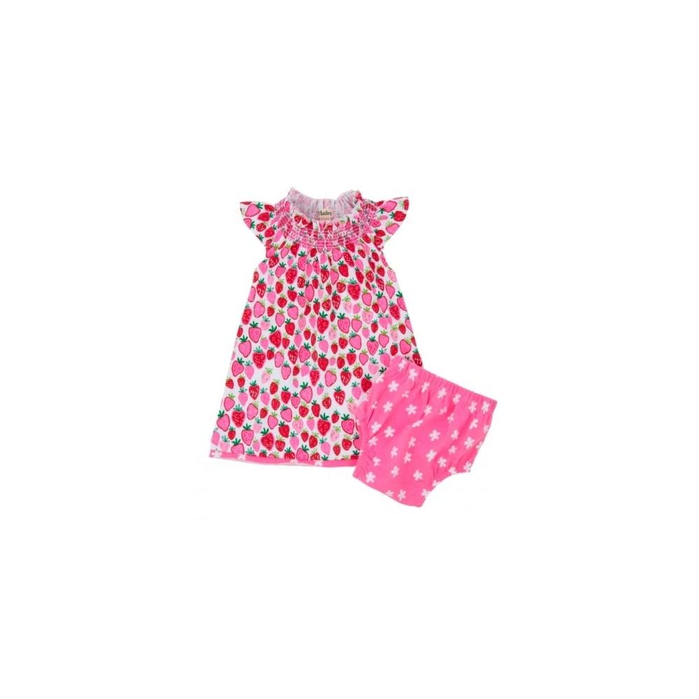 Hatley-Infant-Girls-Strawberry-Sundae-Smocked-Dress